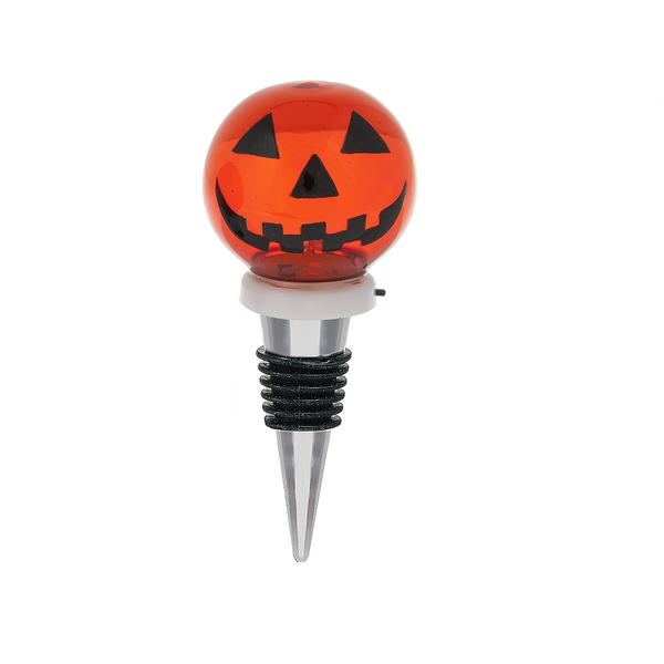 Halloween Jack-O-Lantern Light Up Bottle Stopper