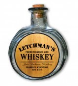 'Whiskey Design' Personalized Barrel Bottle