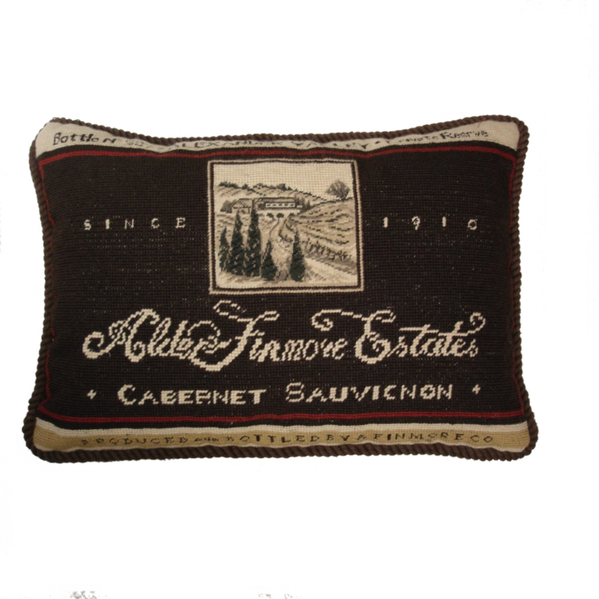 """Finmore Estates"" Pillow"