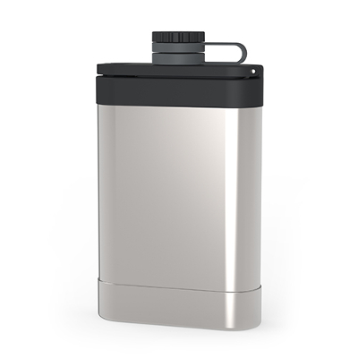 Stainless Steel Easy-Fill Flask