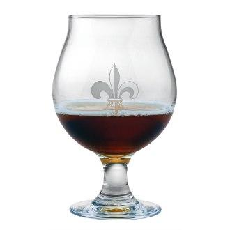 Fleur De Lis Belgian Beer Glass Set