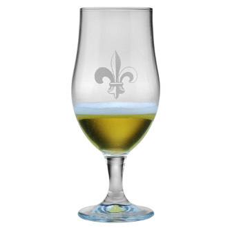 Fleur De Lis Munique Beer Chalices (set of 4)
