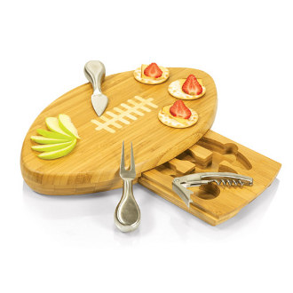 Quarterbark Cutting Board Gift Set