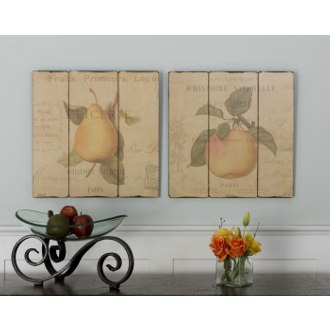 French Fruit Wall Decor