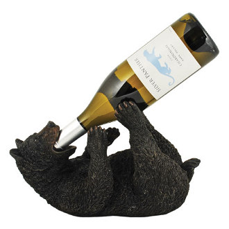 Frisky Bear Cub Wine Bottle Holder