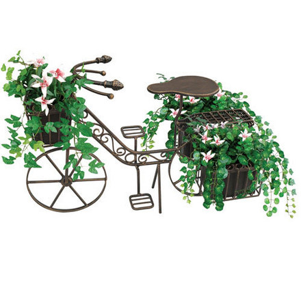 Bicycle Garden Decor Small, Bronze