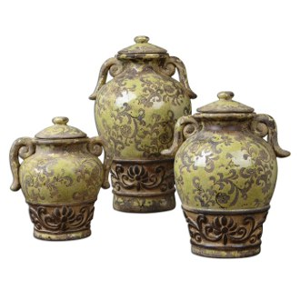 Uttermost Gian Containers, Set of 3