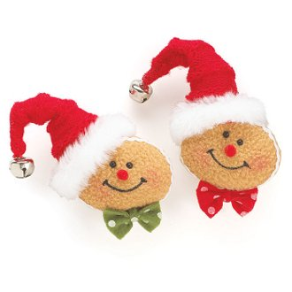 Gingerbread Pins (set of 2)