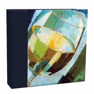 A Glass of White Recipe Card Album