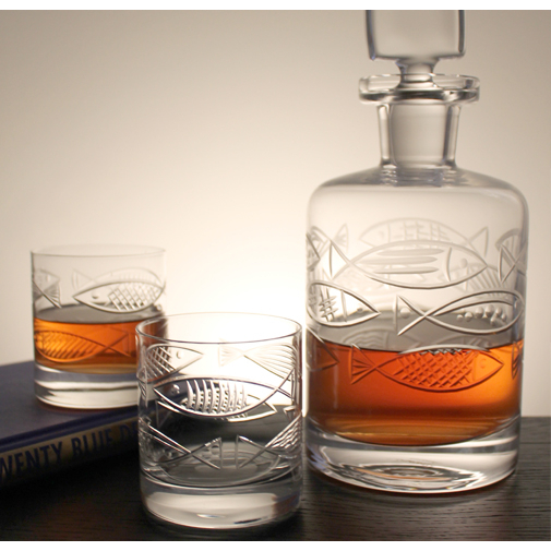 Go Fish Whiskey Decanter