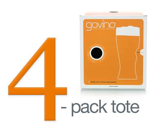 Govino Stemless Shatterproof Beer Glasses