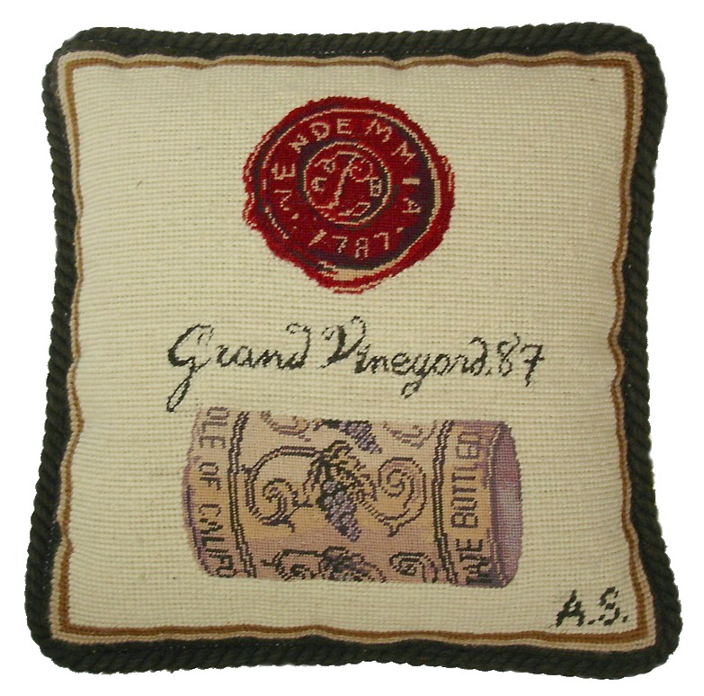 """Grand Vineyard"" Pillow"