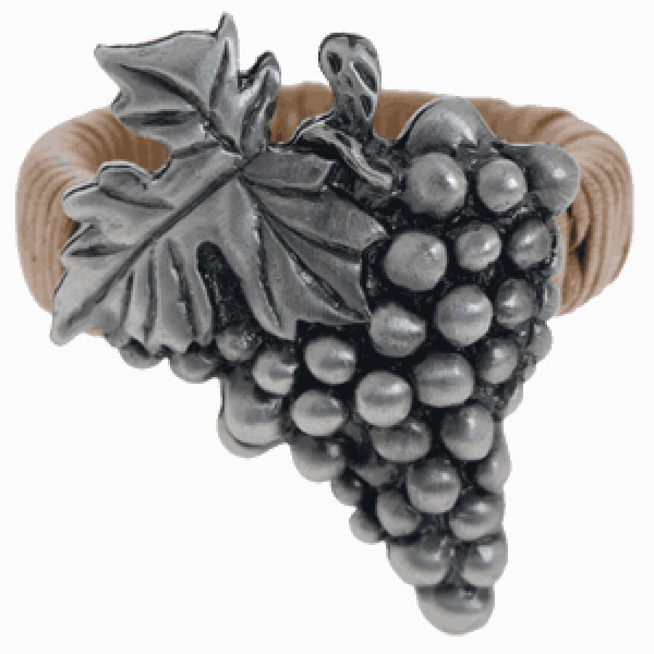 Grapes Metal Wall Art