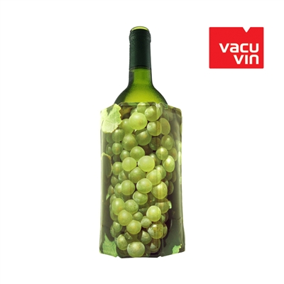 Vacu Vin Rapid Ice Cooler Grapes White Bottle Wrap