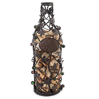 Grapevine Wine Bottle Cork Cage