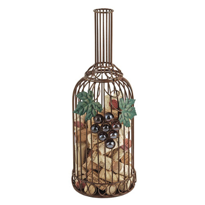 Grapevine Bottle Cork Holder