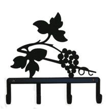 Wrought Iron Grapevine Key holder