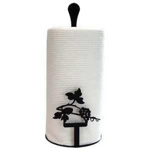 Grapevine Paper Towel Stand