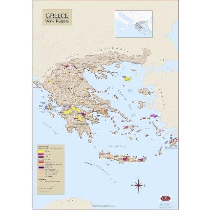 Greece Wine Regions Map