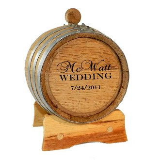 Custom Groomsman 1 Liter Barrel Special