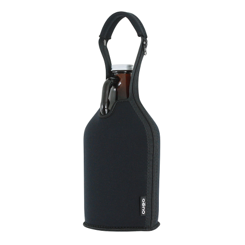 Growler Neoprene Carrier - Black