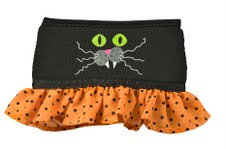 Halloween Wine Glass Skirt, Cat