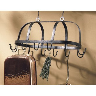 Wrought Iron Hanging Pot Rack