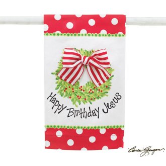 Happy Birthday Jesus Tea Towel