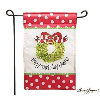 Happy Birthday Jesus Flag