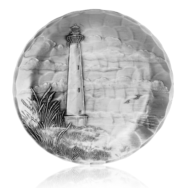 Hatteras Lighthouse Coaster Set