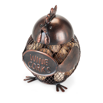 Gobble Hen Metal Cork Holder