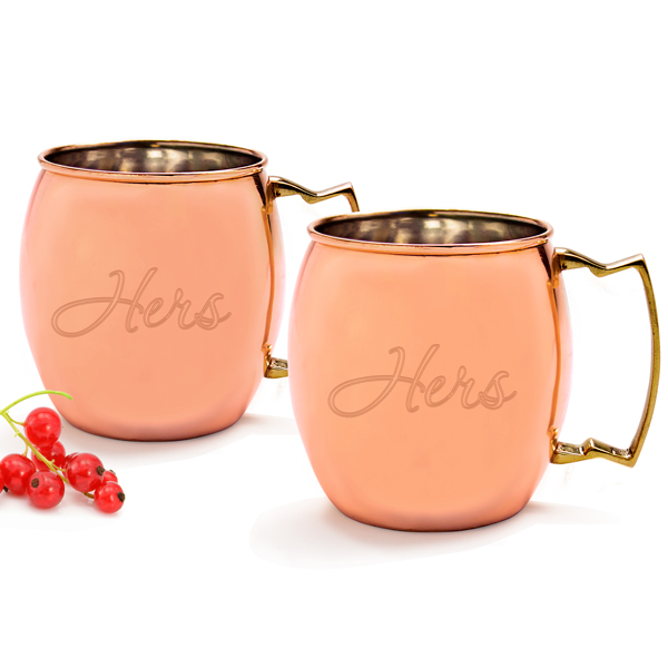 Hers Moscow Mule Copper Mug (Set of 2)