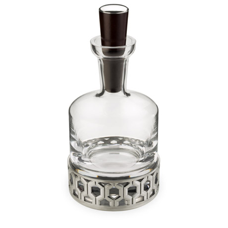 Hexagon Whiskey Decanter
