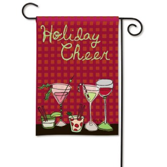 Holiday Cheer Garden Flag