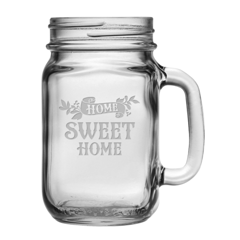 Home Sweet Home Mason Jar Mugs (set of 4)
