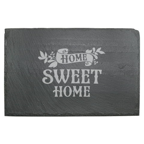 Home Sweet Home Slate Cheese Server