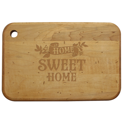 Home Sweet Home Artisan Wood Board