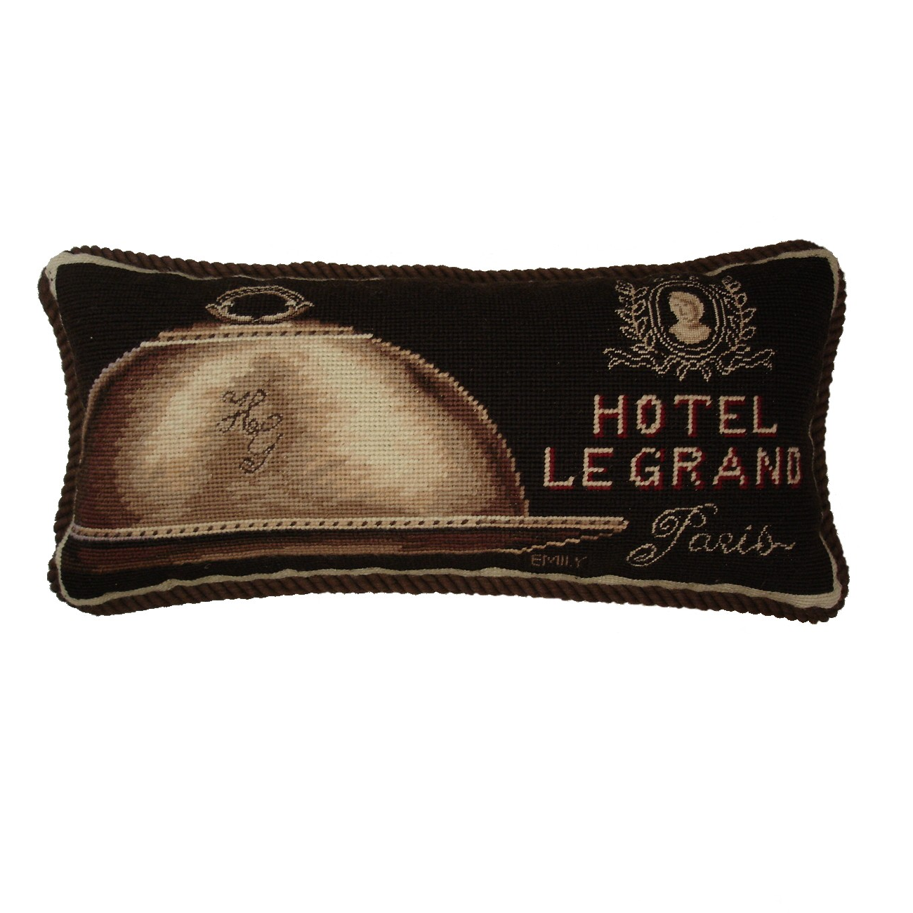 """Hotel Le Grand"" Pillow"