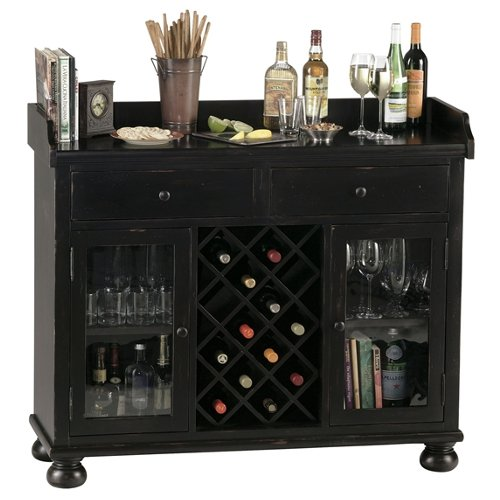 Cabernet Hills Wine and Bar Cabinet Console