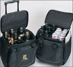 Wine Luggage for 12 Bottles With Logo 24 Pieces