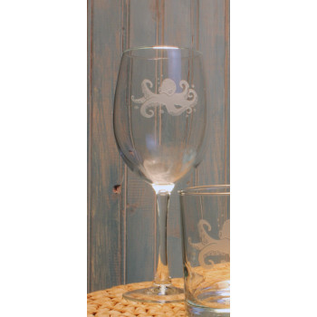 Octopus All Purpose Wine Glasses (set of 4)