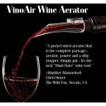 VinoAir Wine Aerator, Pourer and Drip Stopper