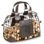 Handbag Wine Cork Cage