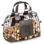 Handbag Wine Cork Cage