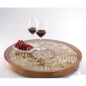 Wine Cork Lazy Susan Kit