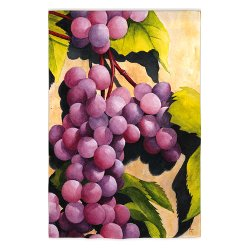 Merlot Sunset Garden Size Flag