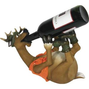 Whimsical Deer Wine Bottle Holder
