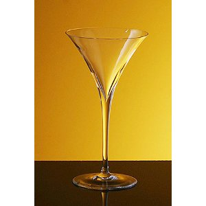 Bottega del Vino Crystal Vertex Martini Glasses (set of 2)