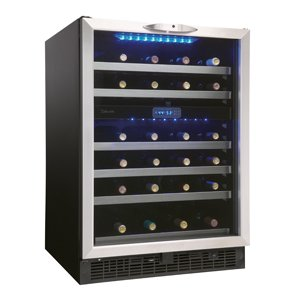 Silhouette 51 Bottles Wine Cellar - Dual Zone