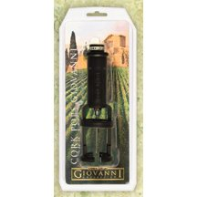 Giovanni Cork Pops Wine Opener
